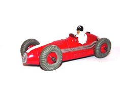 Dinky Toys Diecast Race Car Red MASERATI 231 Open Wheel Vintage Collectibles   #Dinky