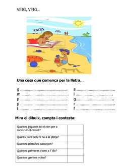 VEIG, VEIG... COMENÇA PER...racons Speech Language Therapy, Speech And Language, Catalan Language, Great Schools, I Spy, Album, Conte, Valencia, Homeschool