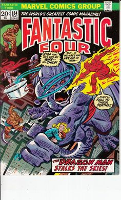 Fantastic Four 134  May 1973 Issue  Marvel Comics  by ViewObscura