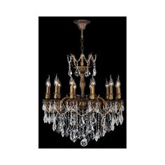 Worldwide Lighting Corp Versailles 12-Light Antique Bronze Finish (3,575 ILS) ❤ liked on Polyvore featuring home, lighting, surface mount lights, antique bronze lamps, antique bronze lighting, 12 light and 12v light