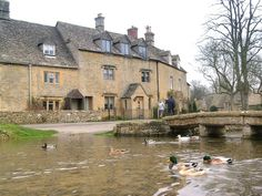 I LOVE ENGLAND!  Lower Slaughter - Cheltenham - Gloucestershire - ( Cotswolds ) - England