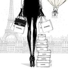 19 new Ideas fashion sketches chanel megan hess illustration Coco Chanel, Chanel Paris, Megan Hess Illustration, Illustration Art Drawing, Mode Poster, A4 Poster, Ilustración Megan Hess, Fashion Week, Trendy Fashion