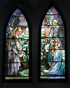 Tiffany Windows — St. Paul's Elkins Park
