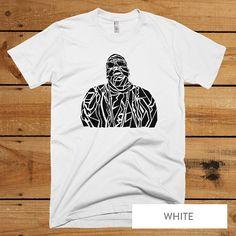 Notorious B.I.G. Biggie Smalls T-Shirt - Notorious B.I.G. Biggie Men's tee - Hip Hop Rap R&B music S-XL -  White T-shirt