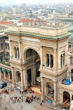 Where I've been and where I would love to go / La Galleria: Milano, Italia