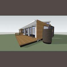 111125 BARRY 02 3 C Prefab, House Design, Architecture, Outdoor Decor, Home Decor, Arquitetura, Decoration Home, Room Decor, Architecture Design