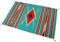 Splendid Exchange Hand Woven Acrylic Southwest Area Rug, ...