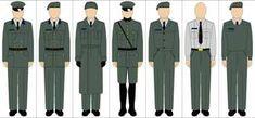 Generic uniforms by Tounushi Royal Navy