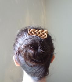Celtic knot hair fork by theancientmuse on Etsy, $37.00