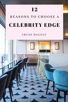 12 reasons to book Celebrity Edge, the first of Celebrity Cruises' brand-new and groundbreaking 'Edge' class fleet, for your next cruise holiday. Celebrity Cruise Ships, Celebrity Cruises, Cruise Travel, Cruise Vacation, Italy Vacation, How To Book A Cruise, Royal Caribbean International, Celebrity Gowns, Cruise Holidays