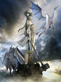 angels   The Sky Angels' Guardian by NightsongWS