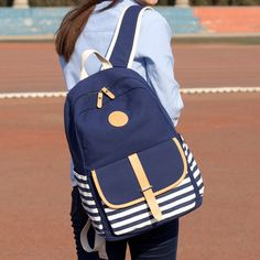 """Color:blue. Size: Height:43cm/16.77"""". Width:30cm/11.70"""". Thick:15cm/5.85"""". Fabric material:canvas. Tips: *Please double check above size and consider your measurements before ordering, thank you ^_^"""