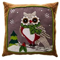 Owl Pillow http://shop.crackerbarrel.com/Owl-Pillow/dp/B00NCA2K0S