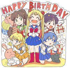 Sailor Moon Happy Birtnday