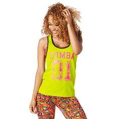 Bold Black XS Zumba Fitness Damen Strong by Zumba Racerback Frauentops