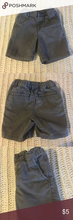 Gray Shorts Gently used shorts. No stains and no holes.  Perfect for playing. Very comfortable. Adjustable waist The Children's Place Bottoms Shorts