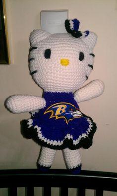 My Baltimore Ravens Hello Kitty