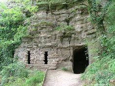 Balaton - Tihany - Remete-barlang, Hungary