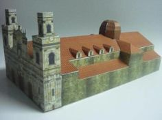 Primatial Cathedral of Bogotá Free Building Paper Model Download
