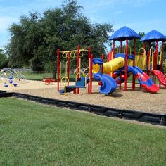 Completed Playground at Meador Elementary in Houston, TX.