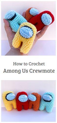Crochet Amigurumi Free Patterns, All Free Crochet, Crochet Yarn, Chrochet, Beginner Crochet Tutorial, Crochet For Beginners, Small Crochet Gifts, Crochet Projects To Sell, Selling Crochet