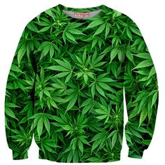 NEW ARRIVAL - Weed Plant Sweatshirt by Yo Vogue Clothing - This beautiful sweatshirt is made with an extremely soft garment using HD Photographic Printing Technology. The fine mixture of polyester and cotton allow us to print high definition images and create unique, fresh and innovative products. Just $64.95 on yovogueclothing.com