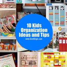 10 Kids Organization Ideas and Tips