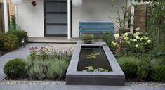 Moderne achtertuin bij nieuwbouwwoning - Foto 1