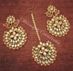 Tika Jewelry, Gold Jewelry, Unique Jewelry, Jewelery, Jewelry Design, Gold Necklaces, Turkish Jewelry, Indian Jewelry, Bollywood Jewelry