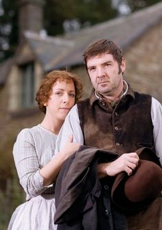 """Hey - all you Downton Abbey/Mr. Bates fans - Brendan Coyle was in """"Lark Rise to Candleford"""" LONG before DA! Check out several seasons on YouTube. He was Robert Timmins. Here he is with his wife from the show. Great storyline."""