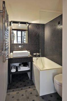 Salle de bain : 모던스타일 욕실 by Marion Rocher