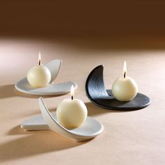 Comma Place-card Candlestick F273