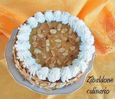 Zibaldone culinario: Cheesecake al limone con lemon curd e mandorle