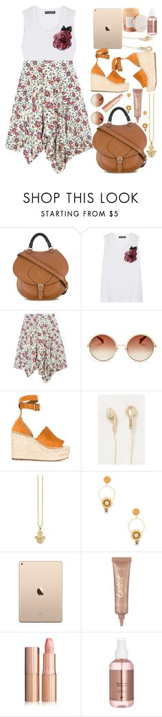 """""""Happy day!!!!"""" by naki14 ❤ liked on Polyvore featuring Maison Margiela, Dolce&Gabbana, Isabel Marant, Marc Jacobs, Chloé, Happy Plugs, Thomas Sabo, tarte, D.L. & Co. and summerstyle"""