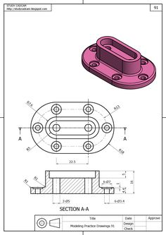 Autocad Isometric Drawing, Isometric Drawing Exercises, Mechanical Design, Mechanical Engineering Design, Geometric Tolerancing, Orthographic Drawing, Solidworks Tutorial, Interesting Drawings, 3d Drawings