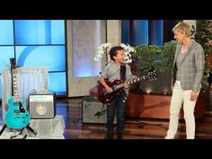 Child Guitar Prodigy! - YouTube