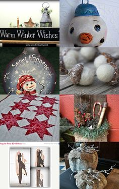 Warm Winter Wishes by WitchIsWhy on Etsy--Pinned with TreasuryPin.com