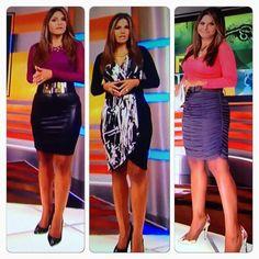 Natalia Cruz en Primer Impacto por Univision