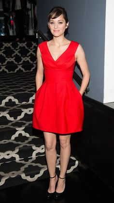 Marion Cotillard attends the after party for The Immigrant. via @stylelist | http://aol.it/1pEXtVa