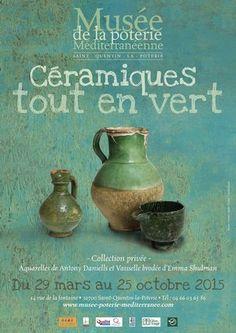 Musée de la poterie méditerranéenne St Quentin la Poterie (Gard) - expo 2015
