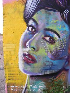 N4T4.. . #streetart #graffiti
