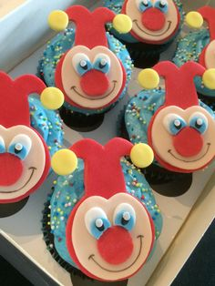 Jokie (Efteling) chocolade cupcakes. Van ZUUT gebak!