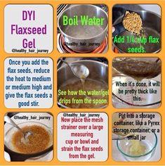 Natural Hair Tips, Natural Hair Styles, Going Natural, Natural Skin, Flax Seed Hair Gel, Flax Seed Benefits, Oil Benefits, Flaxseed Gel, Flax Seed Recipes