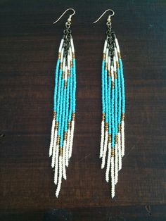 I used to have a pair of earrings like this as a child. I wish I knew what I'd done with them...