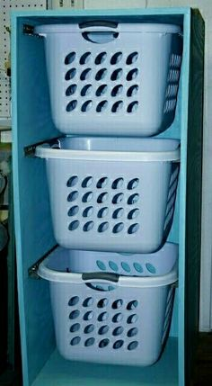 Dorm life- BAsket storage solution. You could use this for clothing, food. anything really!!