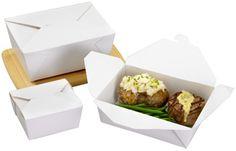 take out food boxes for holiday leftovers