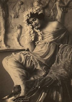 Fritzi von Derra. Photo: Frank Eugene. Early 1900s