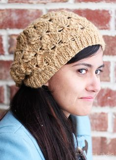 Montera Hat  make me studio: Knitting