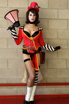 Ok, I totally want to be Mad Moxxi for Halloween.