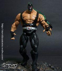 Bane (DC Universe) Custom Action Figure